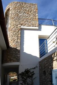 Villa Delfi materiali